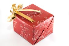 Free Red Gift Box Royalty Free Stock Photo - 18342055
