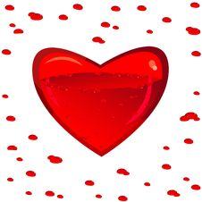 Heart And Blood Stock Images