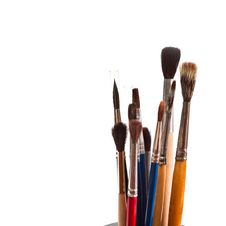 Free Paint Brushes. Royalty Free Stock Images - 18342469