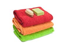 Free Towels. Stock Photography - 18342492