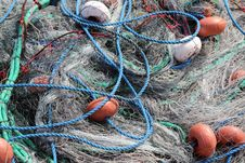 Free Fishing Nets Royalty Free Stock Photography - 18342917