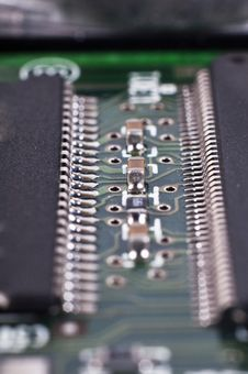 Free Integrated Circuit Royalty Free Stock Photo - 18345845