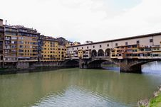 Free Ponte Vecchio, Florence Royalty Free Stock Photography - 18345967