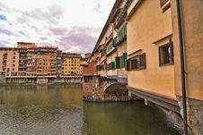 Free Ponte Vecchio, Florence Royalty Free Stock Images - 18345979