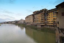Free Lungarni, Florence Stock Photos - 18345983