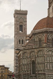 Free Piazza Del Duomo, Florence Royalty Free Stock Photos - 18346008