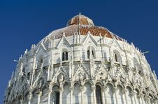 Free Piazza Dei Miracoli In Pisa After A Snowstorm Royalty Free Stock Photo - 18346165