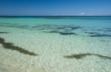 Free Turquoise Caribbean Waters Royalty Free Stock Image - 18346336