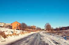 Free Winter Countryside Royalty Free Stock Photography - 18346677
