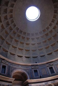 Pantheon, Rome, Italy Royalty Free Stock Photo