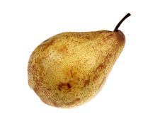 Free Yellow Pear Stock Photography - 18347222