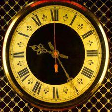 Free Old Clock Royalty Free Stock Photo - 18347325