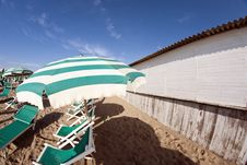 Free Beach Detail In Pisa, Italy Stock Images - 18347534