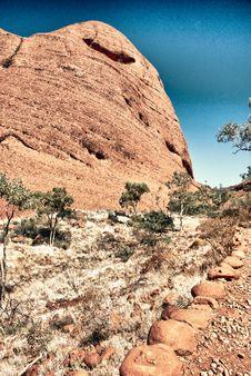 Free Rocks Of Australian Outback Royalty Free Stock Photo - 18347575