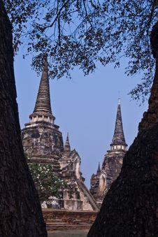 Free The Ancient Pagoda Of Ayutthaya, Thailand Royalty Free Stock Photos - 18347778