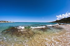 Free Sea Of Corsica, France Royalty Free Stock Images - 18348019