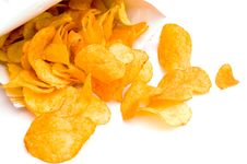 Free Potato Chips Stock Image - 18348041
