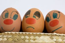 Free Three Eggs Stock Image - 18348181