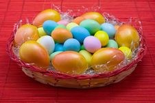 Free Colored Eggs Stock Photo - 18348240