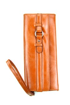 Brown Leather Bag Stock Photos