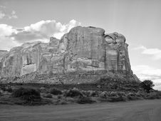 Free Summer In The Monument Valley Stock Photo - 18349070