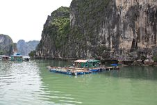 Halong Bay, Vietnam. Stock Photography