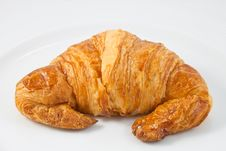 Free Croissant Royalty Free Stock Photography - 18349577