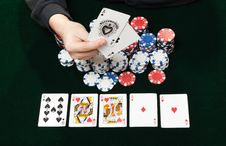 Free Gambling Game Stock Images - 18349804