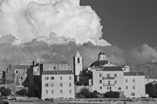 Free Corsica Architecture, Calvi Royalty Free Stock Images - 18349869