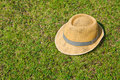 Free Hat On The Lawn Stock Photography - 18351892