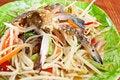 Free Thai Papaya Salad Royalty Free Stock Photography - 18352517