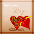 Free Abstract Valentine Card Stock Photos - 18358513
