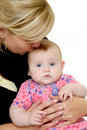 Free Mother Is Kissing Baby Stock Photos - 18359343