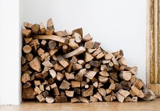 Free Dry Firewood Stock Photos - 18350913