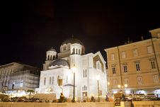Free Temple Of The Holy Trinity And St Spirid, Trieste Royalty Free Stock Image - 18351166