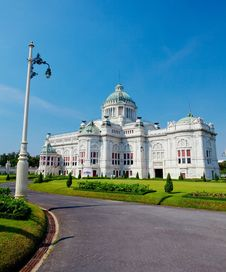 Free Ananta Samakom Throne Hall Stock Image - 18351311