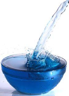 Free Water Splash Royalty Free Stock Images - 18351589