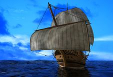 Free The  Ship Royalty Free Stock Photography - 18351727