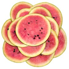 Free Water-melon, Segments A Flower Stock Images - 18352244