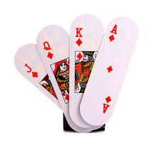 Free Playing Cards Royalty Free Stock Photos - 18352398