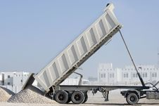 Free Tipper Truck Royalty Free Stock Image - 18352426
