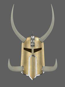 Free Golden Helmet Royalty Free Stock Image - 18352476