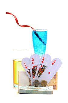 Free Gambling Time Royalty Free Stock Photos - 18352488