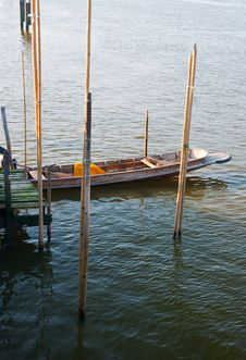Free Small Pier On The Chao Phraya River Stock Photography - 18352532