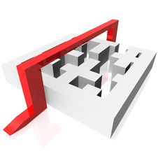 Free Maze Royalty Free Stock Photos - 18352848