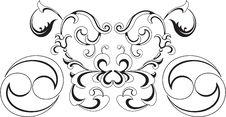 Tribal Tattoo Royalty Free Stock Photography