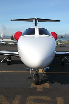 Free Privare Jet. Stock Photo - 18353860