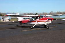 Free Single Engine Aircraft. Stock Photo - 18354070