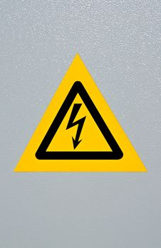 Free High Voltage Symbol Royalty Free Stock Photo - 18354605