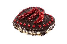 Free Cheesecake With Chocolate Royalty Free Stock Image - 18355346